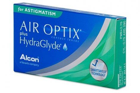 Air Optix Plus HydraGlyde for Astigmatism (x3)